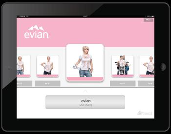Evian content