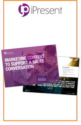 BEGIN YOUR JOURNEY TO BETTER SALES CONVERSATIONS WITH THE RIGHT CONTENT